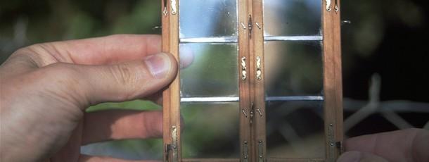 Bau eines Schmuckfensters