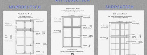 Die-Manufakturfenster-Grundmodelle