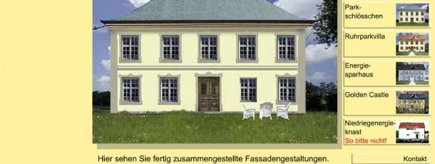 Fassaden-Generator-5 feste Auswahl