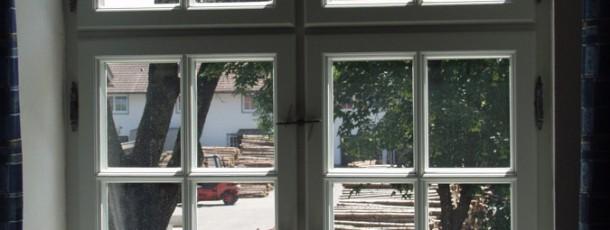 Kreuzstock Variante des Manufakturfensters
