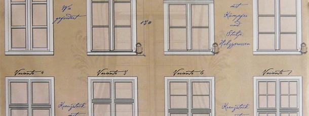 MF Variationen im Vergleich zu normalem Holzfenster