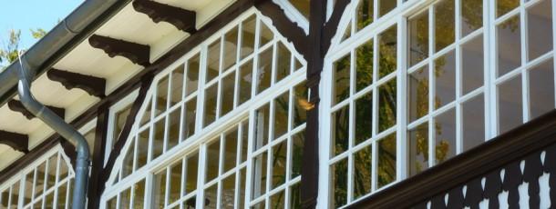 Manufakturfenster Sonderkonstruktion mit Schiebeflügel