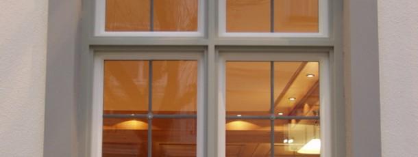 Manufakturfenster optimiert mit Umrahmung