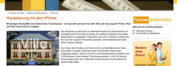 Schwäbisch Hall Homepage mit iVilla Information