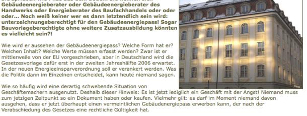 Achtung -geschäftemacher 3.2006