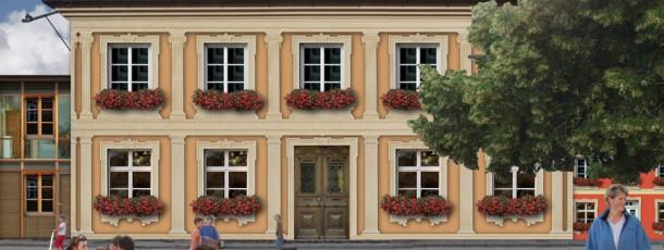 Bauplatz-Gutshof