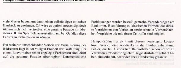 Denkmalpflege 12:92 Seite 2