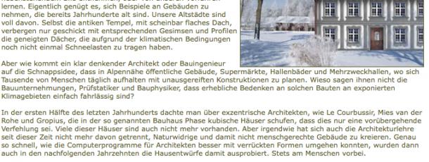 Einstürzende Dächer durch ignor.Architektur 2.2006