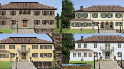 Fassadengestaltungen