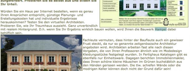 Hauskauf Online 2.2006
