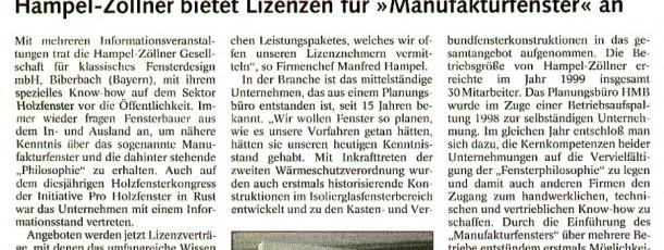 Holz Zentralblatt 7:00