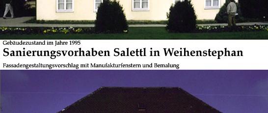 Salettl, Vergleich