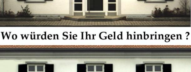 Sparkasse Richtung Landsberg