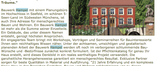 Statt Eigenheimzulage..12.2005