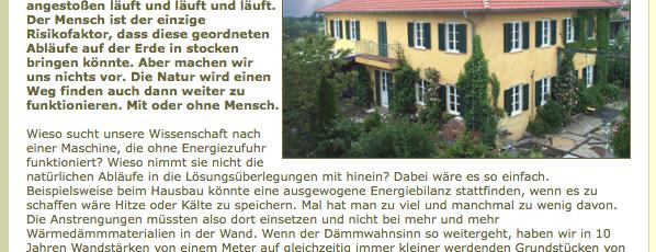 Technik und Verstand spart Energie 2.2006