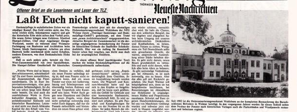 Thüringische-Landtagszeitung-Offener-Brief-1990