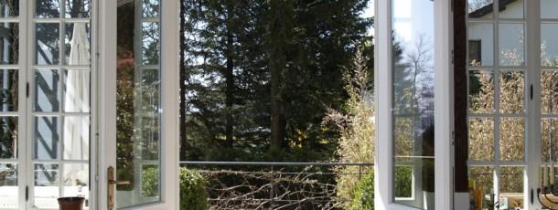 Wintergartentür von innen