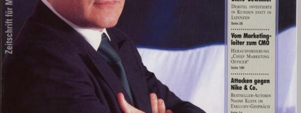 absatzwirtschaft 6.2001 1 Titel